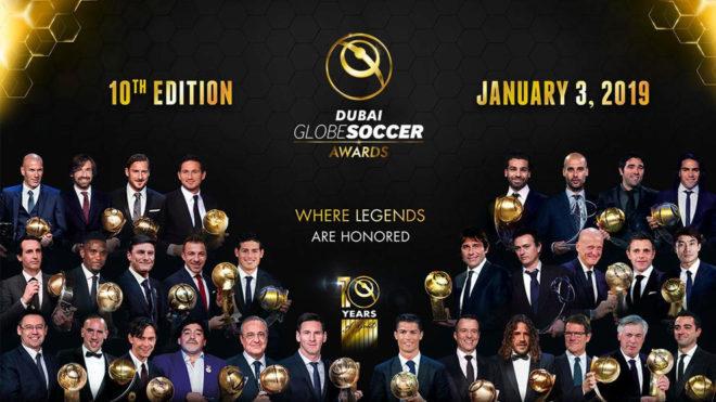 Football: Les finalistes pour le Globe Soccer Awards 2018 sont connus