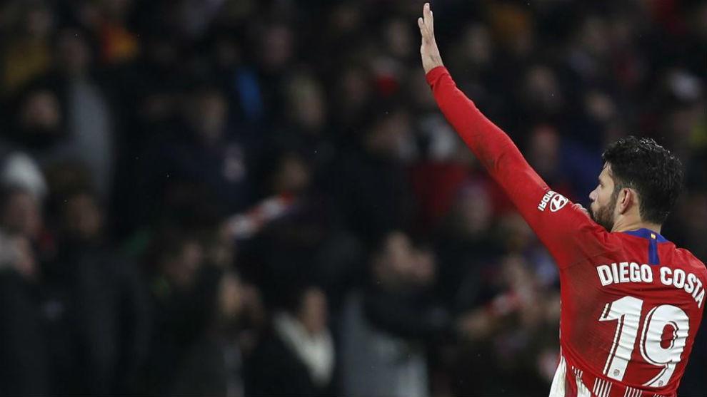 Este es el gol de Costa para levantarse