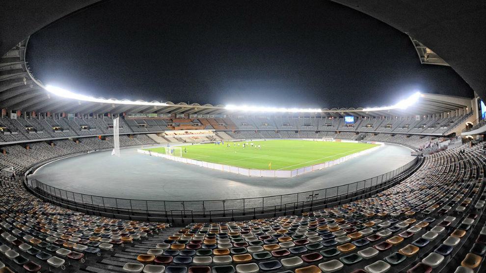 Estadio Jeque Zayed de Abu Dhabi.