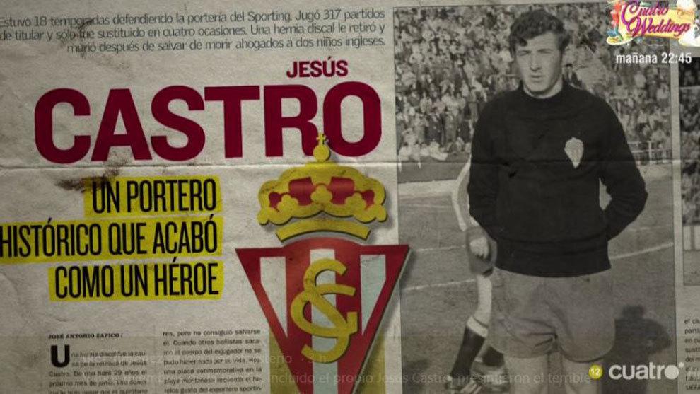 La viuda de Jesús Castro relata la historia de premoniciones que ...