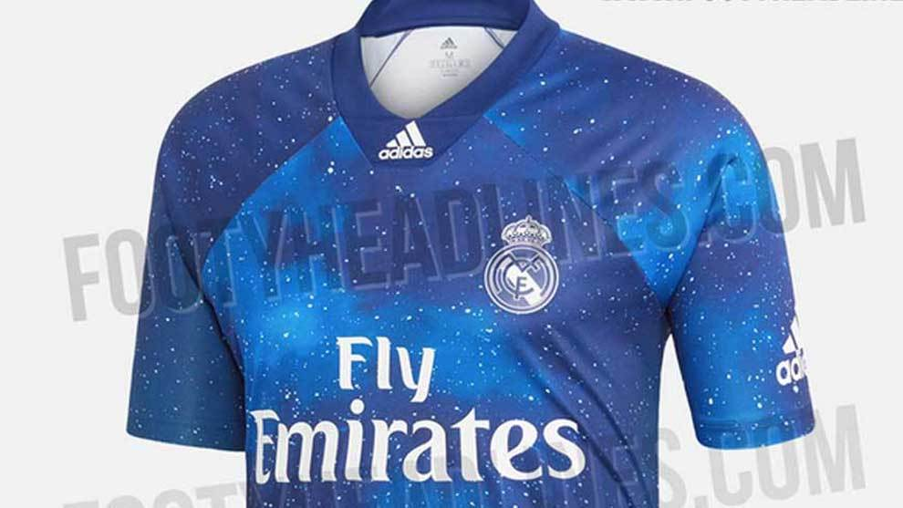 374d38add Champions League - Real Madrid  Special Galacticos-inspired shirt has been  designed for Real Madrid