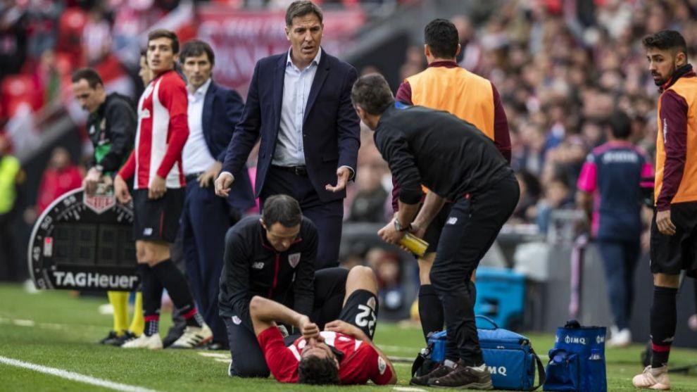 Raúl García no tiene afectado el ligamento