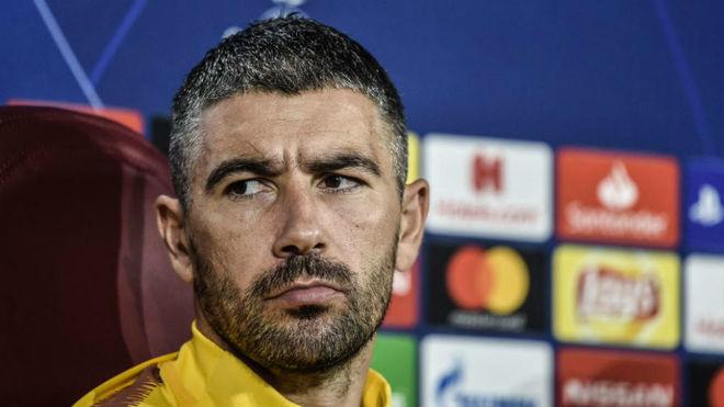 Kolarov, in Roma's pre-match press conference