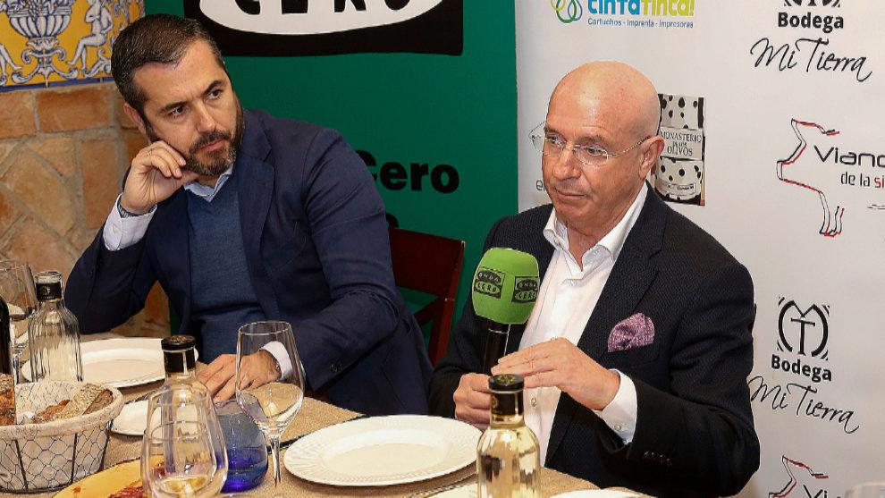 Lorenzo Serra Ferrer, durante la entrevista en Onda Cero.