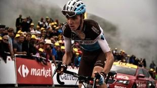Romain Bardet, durante el Tour de Francia 2018.