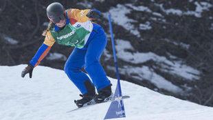 Astrid Fina, en los Juegos Paralímpicos de Pyeongchang 2018.