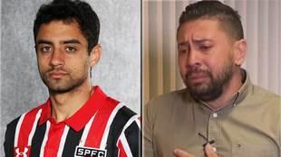 Daniel Correa y su asesino confeso, Edison Brittes