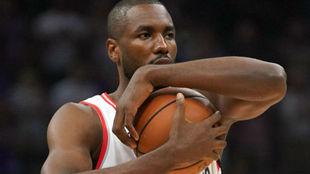 Serge Ibaka está firmando su mejor curso en la NBA