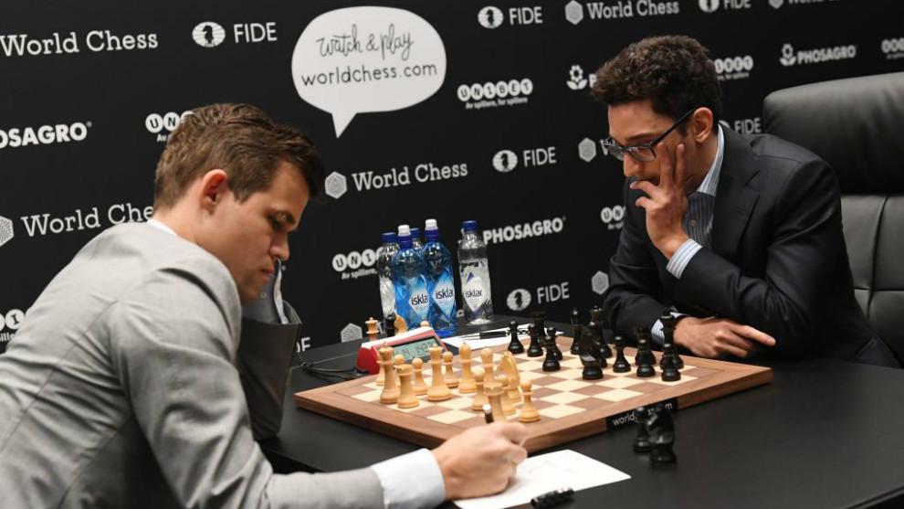 Carlsen y Caruana