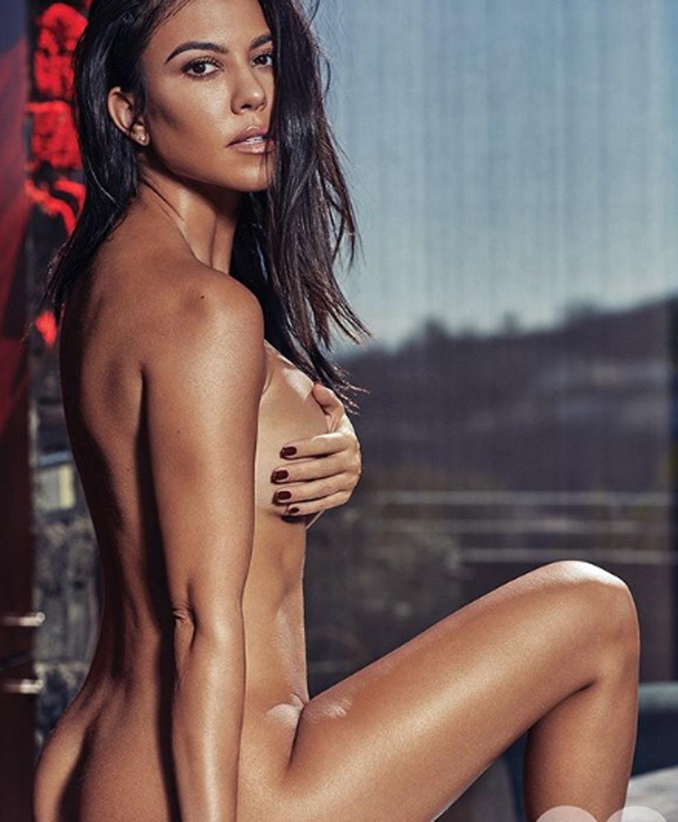 Resultado de imagen para Kourtney Kardashian se desnuda para una revista mexicana (fotos)