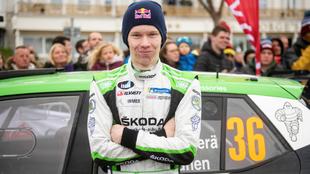 El joven finlandés (18 años) volverá a pilotar un Fabia R5 la...