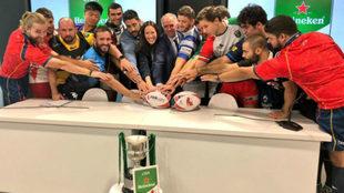 Presentación de la Liga Heineken 18/19 en la sede de LaLiga.