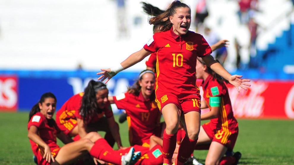 Fútbol Femenino  Nueva Zelanda vs España 4ff042881fde2