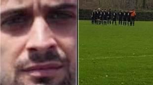 Minuto de silencio por la supuesta muerte de Fernando Lafuente