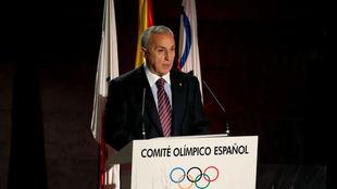 Alejandro Blanco, presidente del COE, en imagen de archivo
