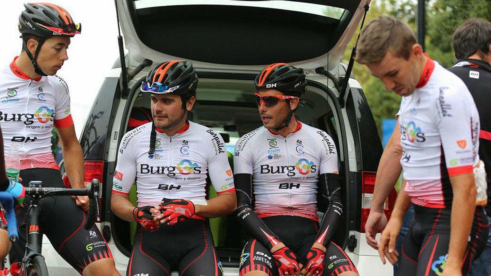 Corredores del Burgos BH en la pasada Vuelta a Turquía.