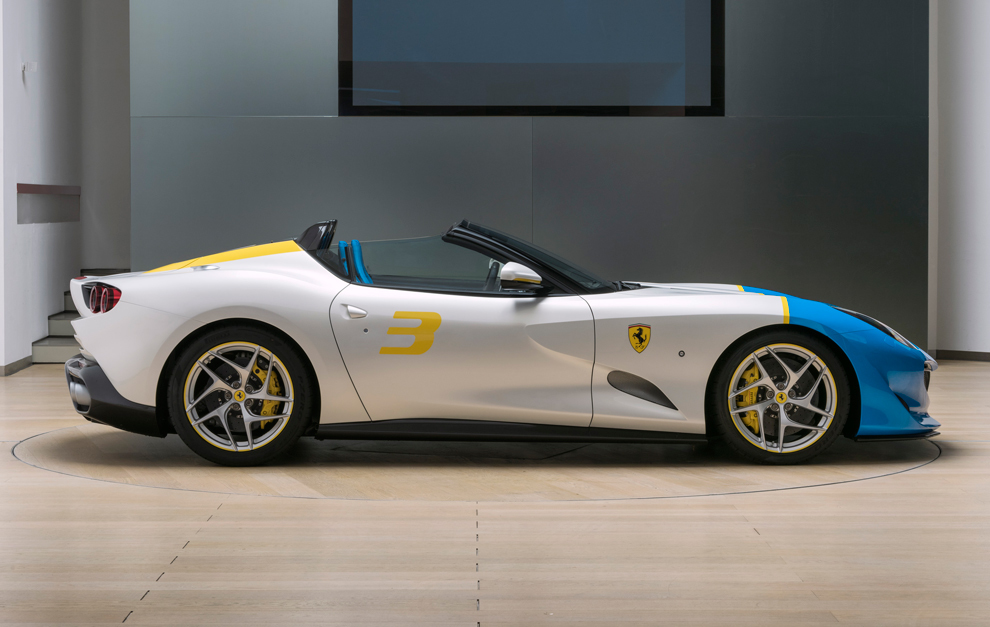 Ferrari SP3JC one-off