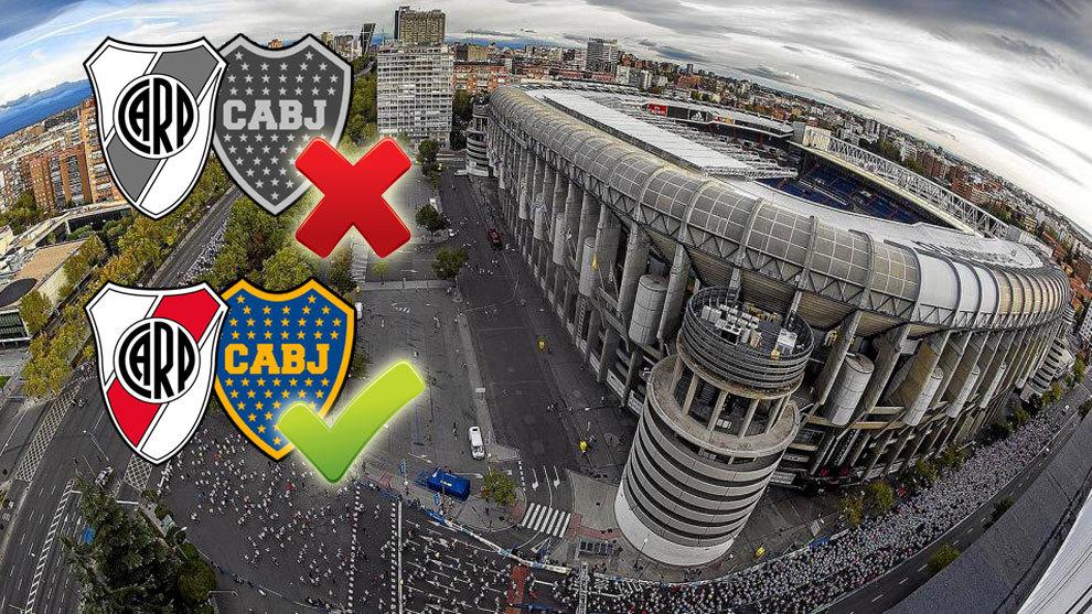 River Vs Boca Final Copa Libertadores 2018 Madrid En El Punto De