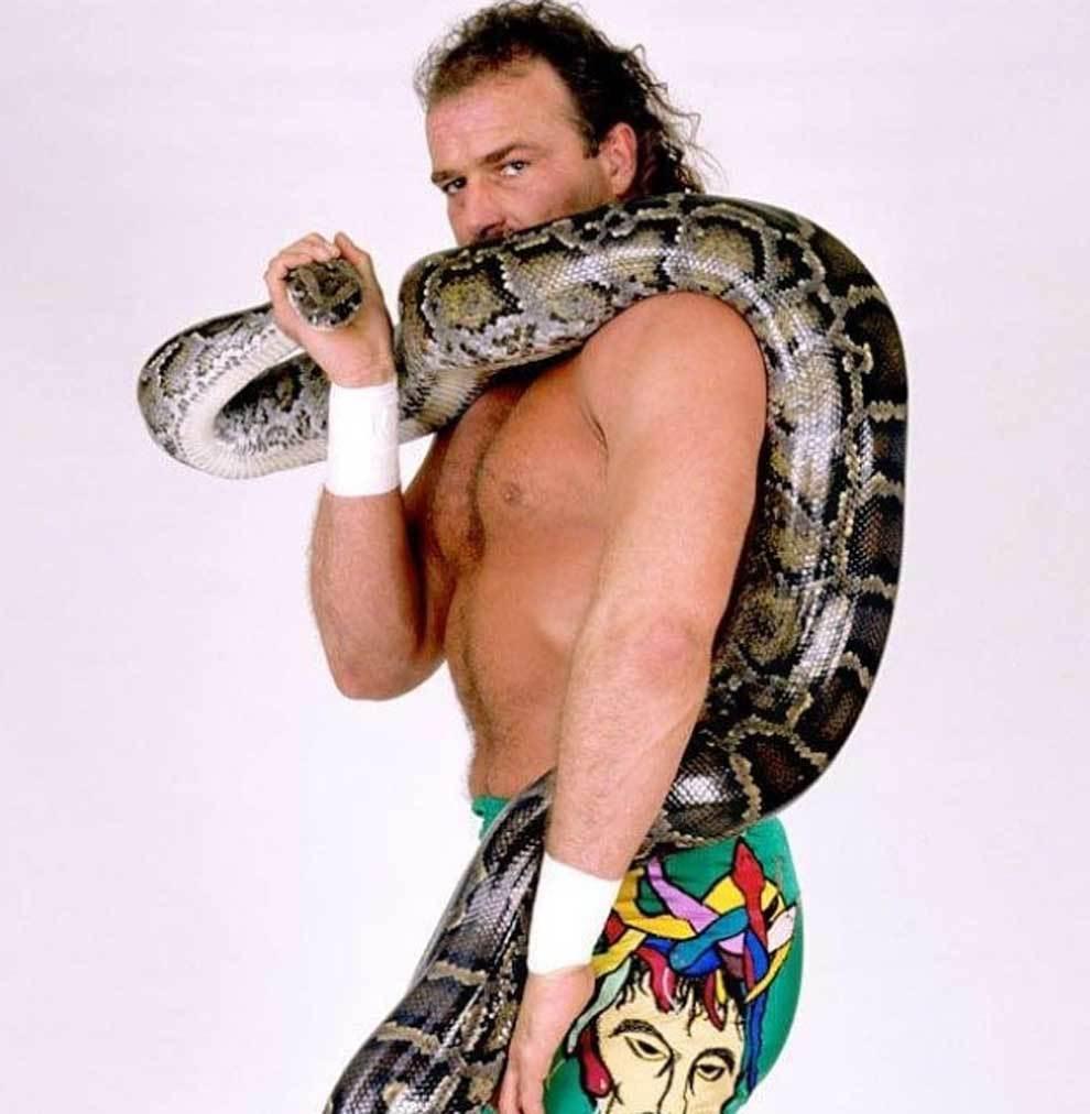 Jake 'The Snake' Roberts, leyenda de la WWE