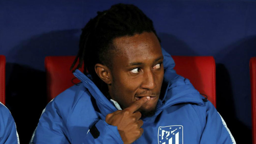 Gelson, on the bench.