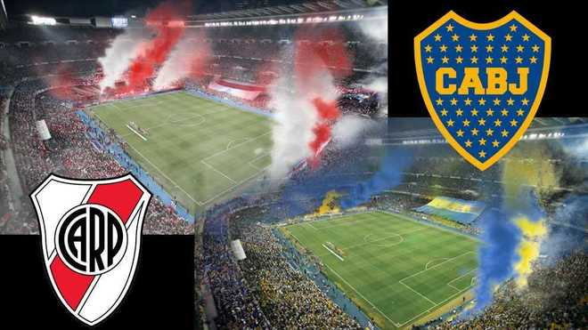 River v Boca in Madrid