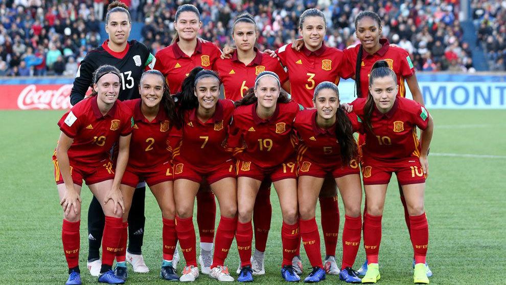 Fútbol Femenino  México vs España 6da411a2f82bf