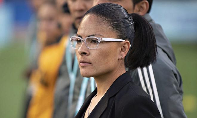La entrenadora mexicana