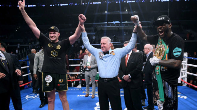 Wilder remains WBC heavyweight champion after draw with Fury