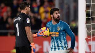 Diego Costa, tras el gol del empate del Atlético
