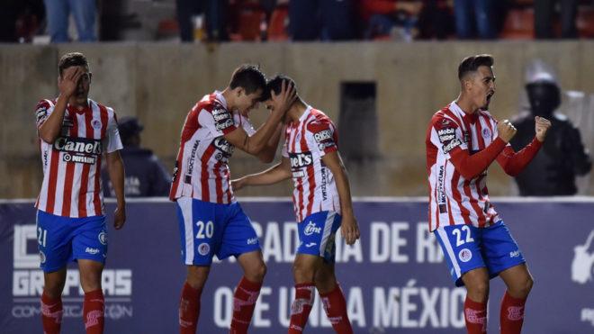 Atlético San Luis vs Dorados.