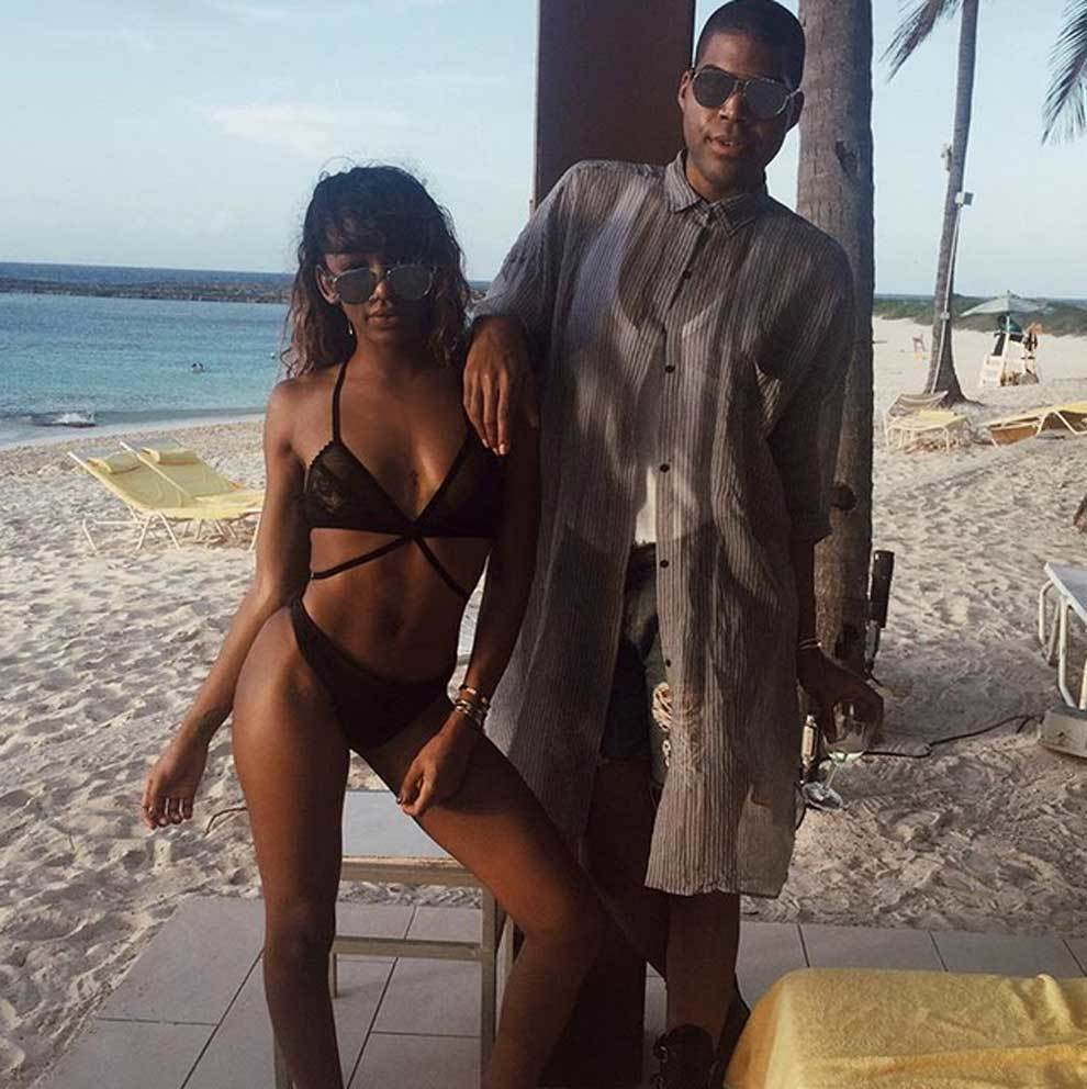 Elisa Johnson y su mediático hermano EJ Johnson