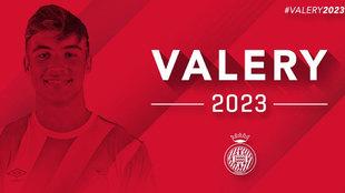 Valery renueva hasta 2023 con el Girona.