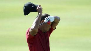 Tiger Woods, durante el reciente Hero World Challenge.