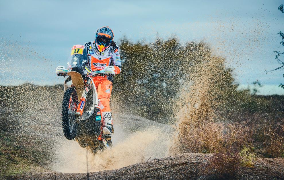 Laia Sanz y su KTM del Rally Dakar 2019