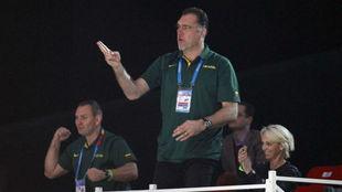 Sabonis, durante el pasado Eurobasket