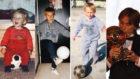 Modric, en distintas fotos de su infancia y con el Balón de Oro