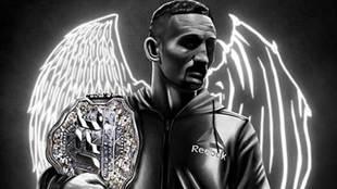 Max 'Blessed' Holloway, campeón del peso pluma de la UFC, vuelve a...