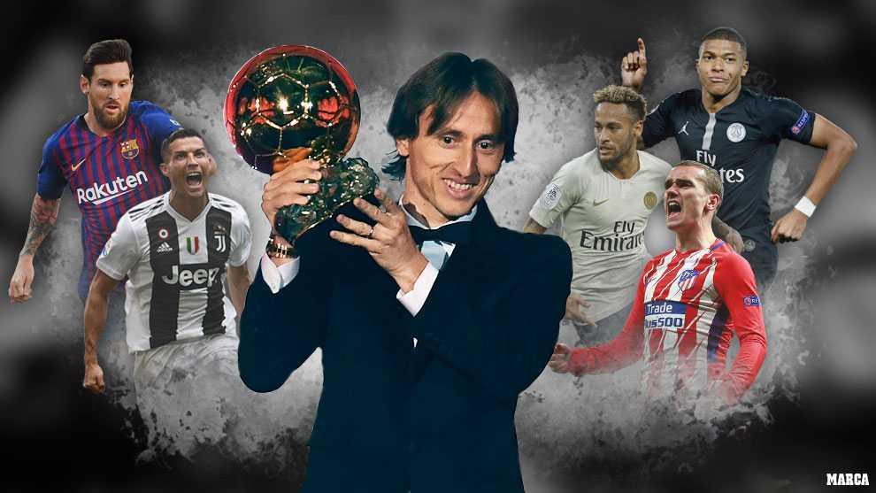 Ballon d'Or 2018: The 2019 Bal...