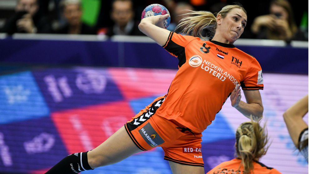 La holandesa Abbingh, en el lanzamiento que supuso la derrota de...