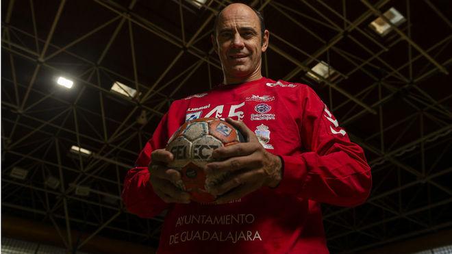 'Joseja' Hombrados, portero del BM Guadalajara