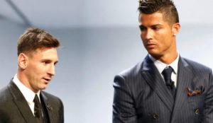 Messi y Cristiano en una imagen de archivo.