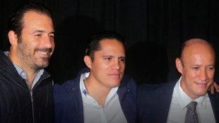 Leyendas de Querétaro y América juegan en beneficio de los afectados...