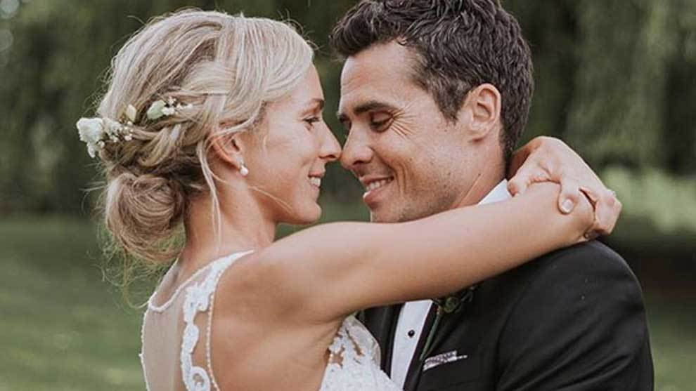 Javier Gómez Noya y Anneke Jenkins, ambos triatletas, se han casado...