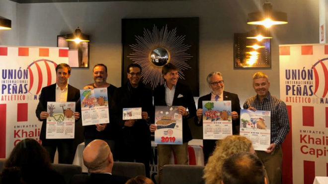 Presentación calendario 2019 de la Unión Internacional de Peñas...