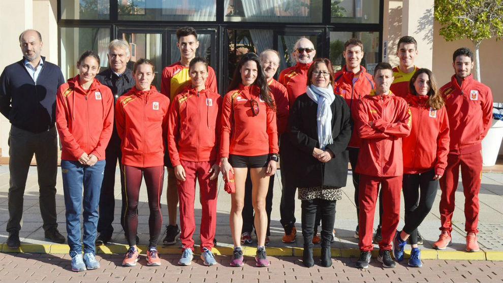 La Selección Española de campo a través.