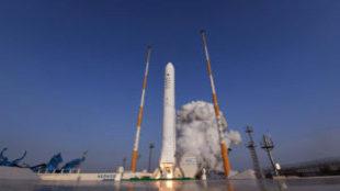 Corea del Sur prueba con éxito su primer motor para cohetes...