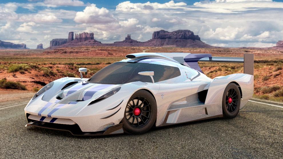 Scuderia Cameron Glickenhaus Le Mans hypercar