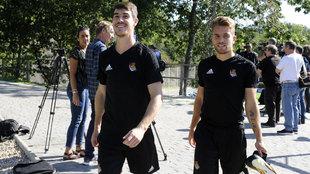 Elustondo y Rodrigues son duda para el encuentro contra el Valladolid.