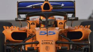 Carlos Sainz, a bordo del McLaren de esta temporada.