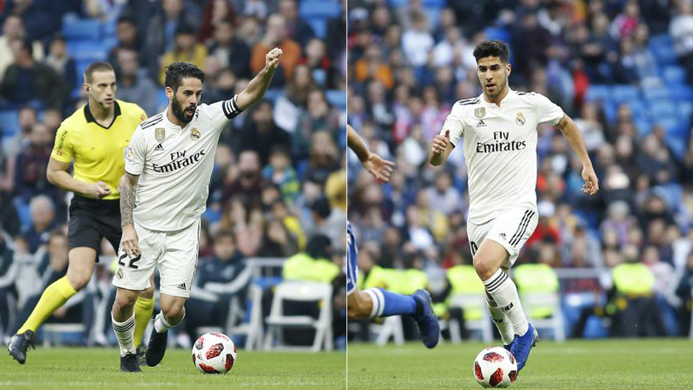 Isco and Asensio.